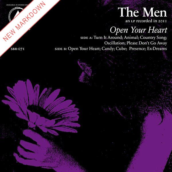 Men - Open Your Heart LP *Markdown*