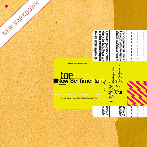 Toe - New Sentimentality 12