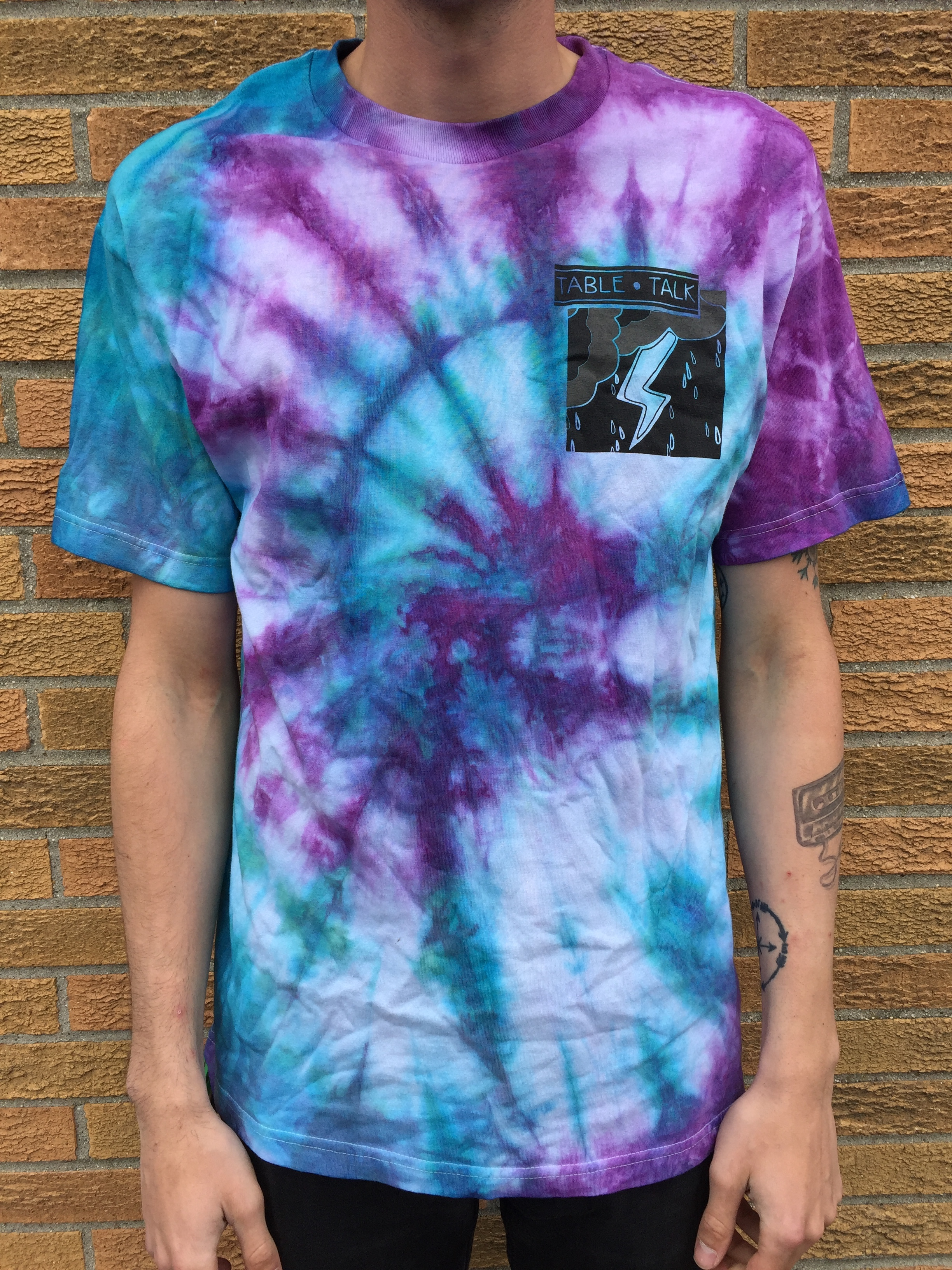 Tie-Dyed