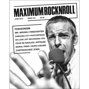 MAXIMUM ROCKNROLL #421 & back issues