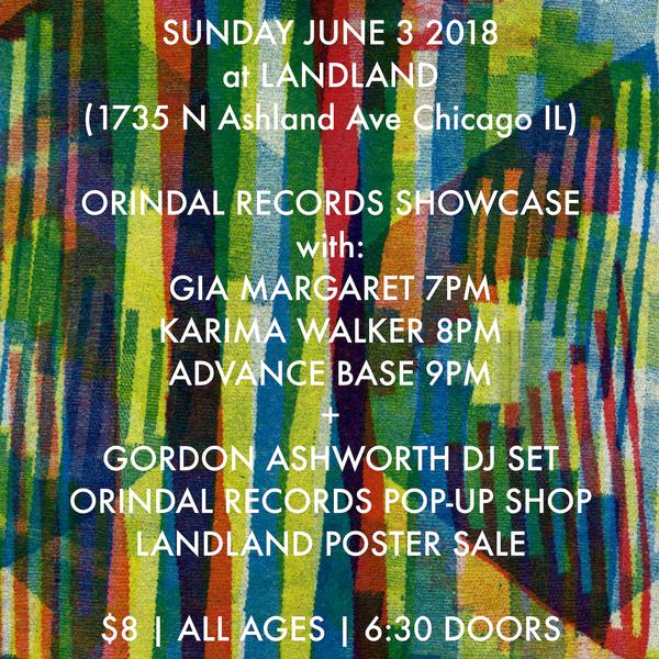 Orindal Records Showcase, Chicago, IL