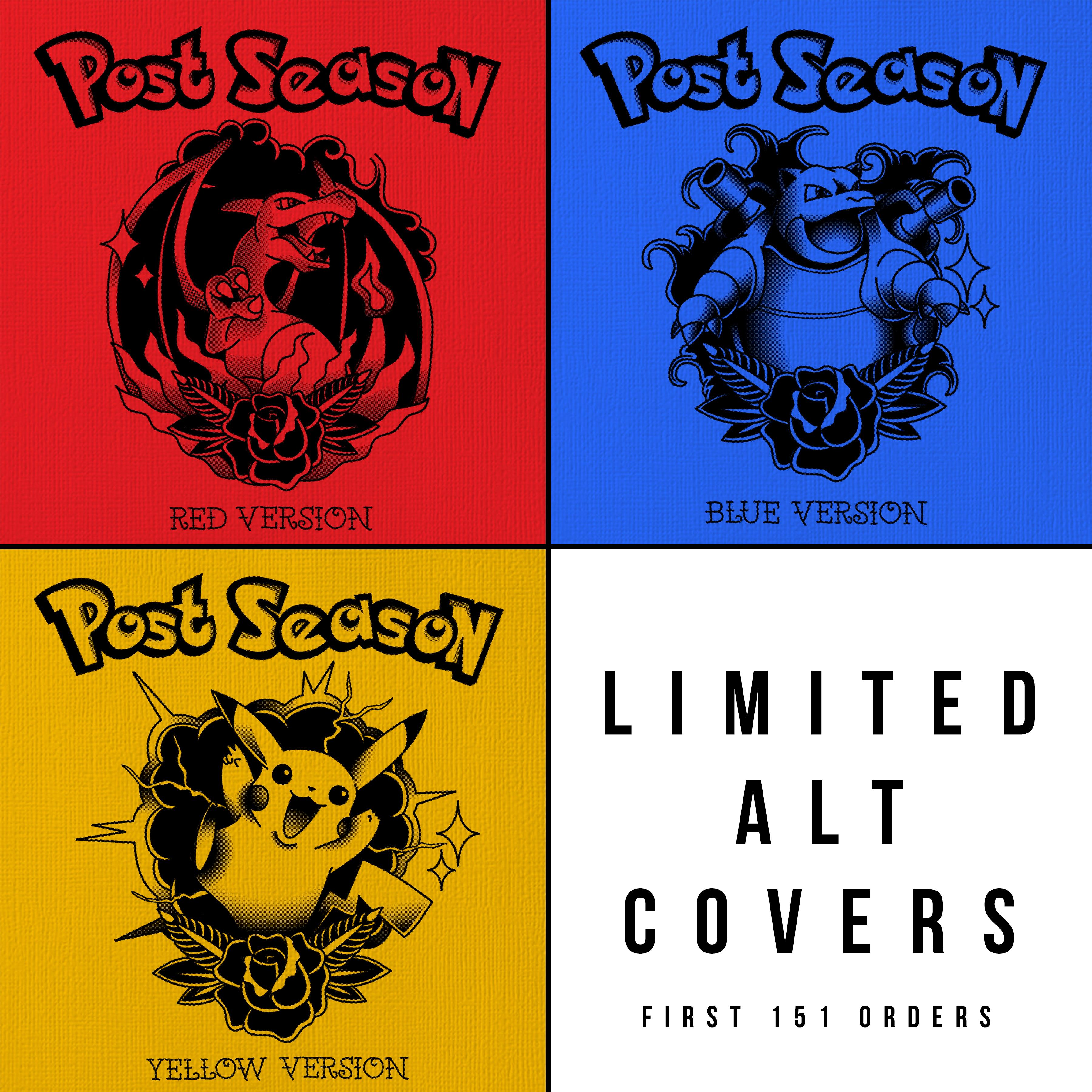 Post Season - S/T LP - Bundle #2