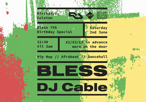 Bless 7th Birthday Special - Dancehall / Afro Beat & Hip Hop