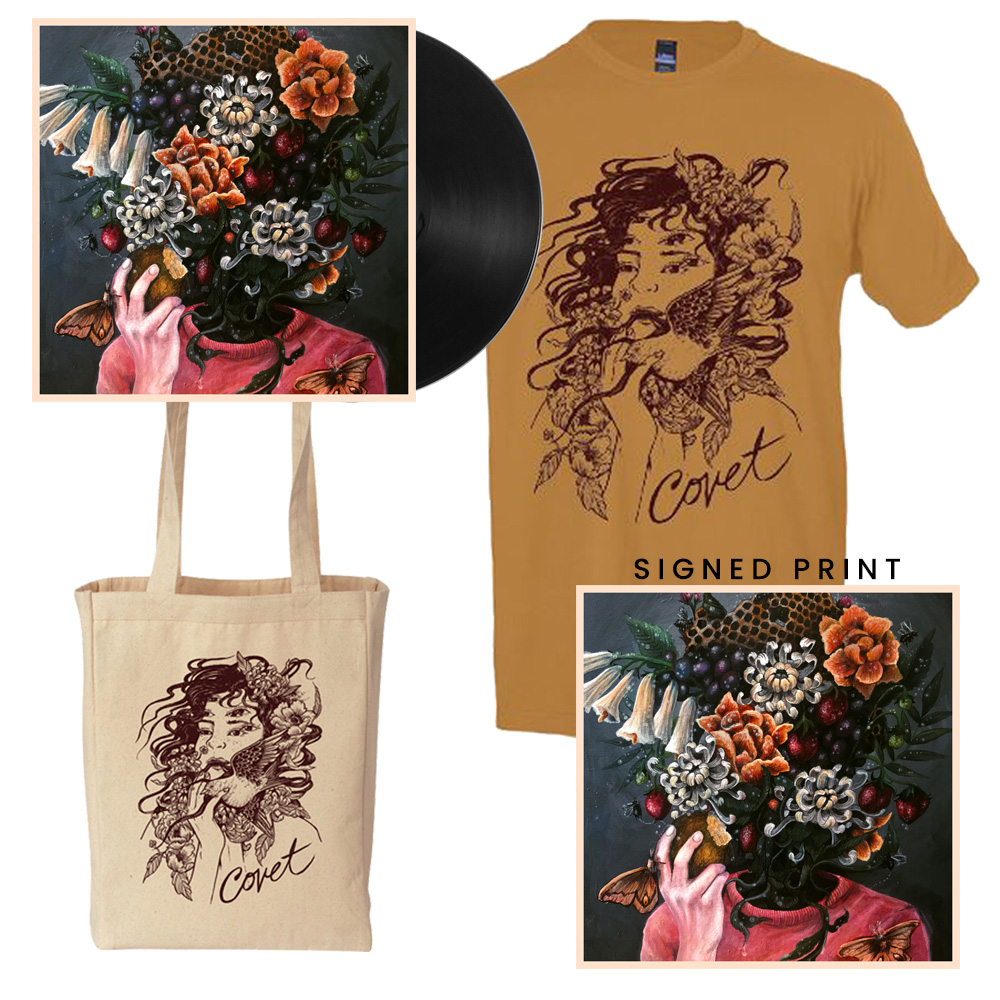 Deluxe Bundle - Signed Print + Album + Tee + Tote