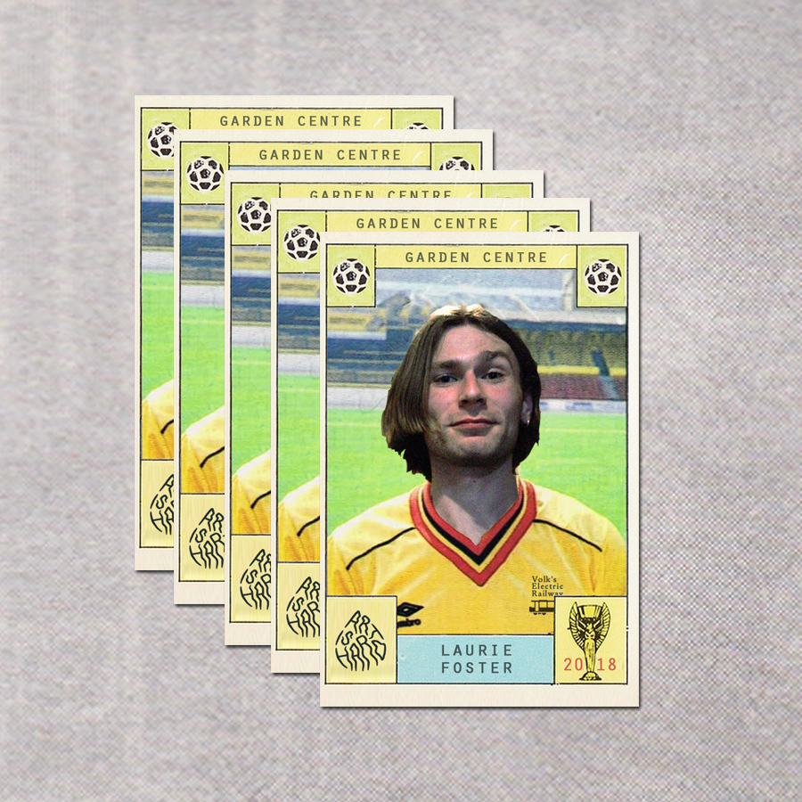 Garden Centre - Wheelie (football stickers)