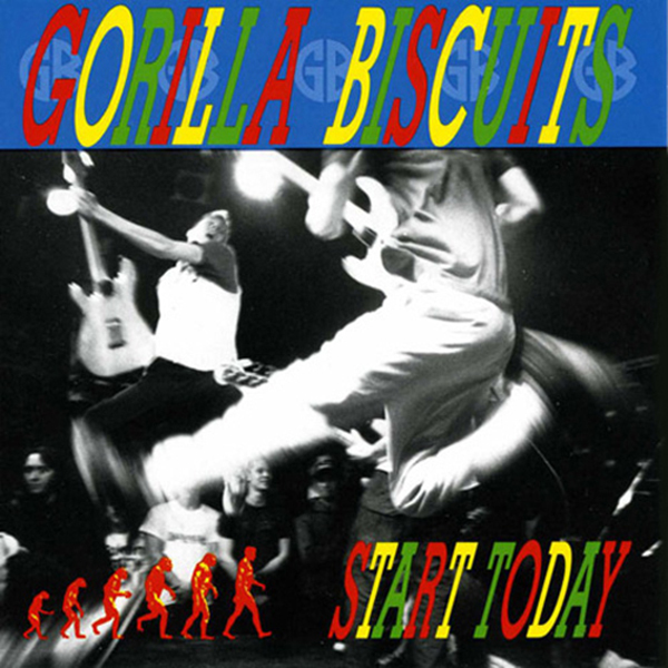 Gorilla Biscuits - Start Today Cassette Tape
