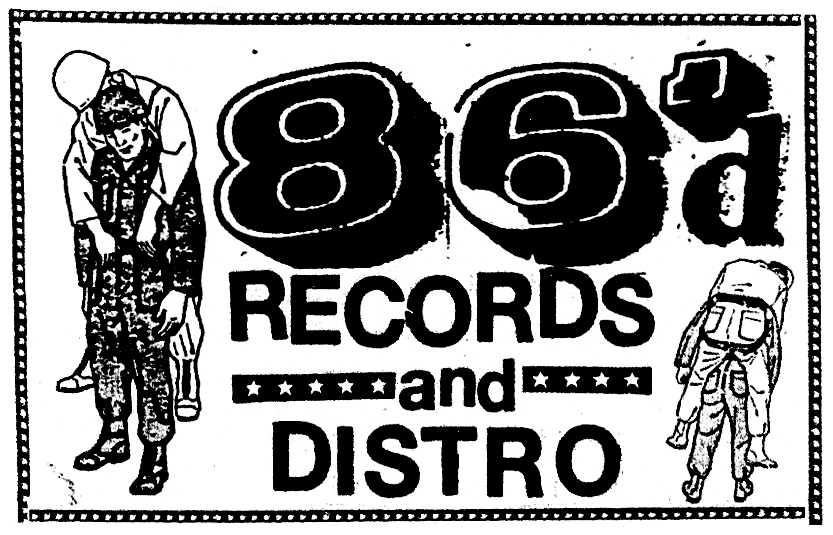 86'd Records News