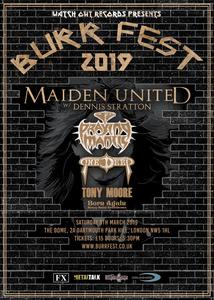 Burr Fest 2019 Poster