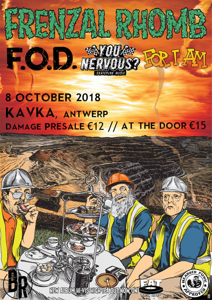 Frenzal Rhomb @ Kavka Antwerp