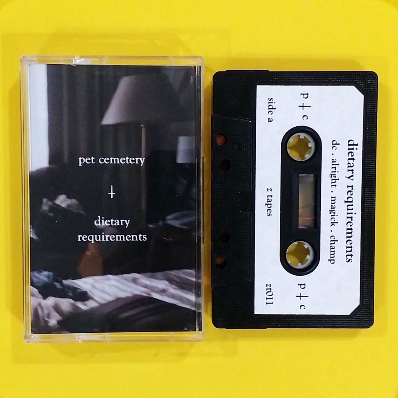 pet cemetery - dietary requirements ep (Z Tapes)
