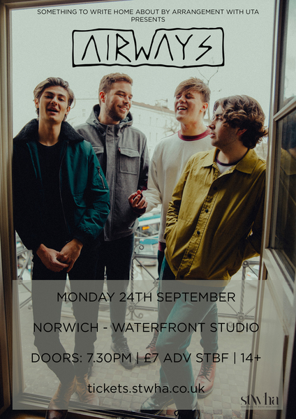 Airways - Norwich Waterfront - 24th September 2018