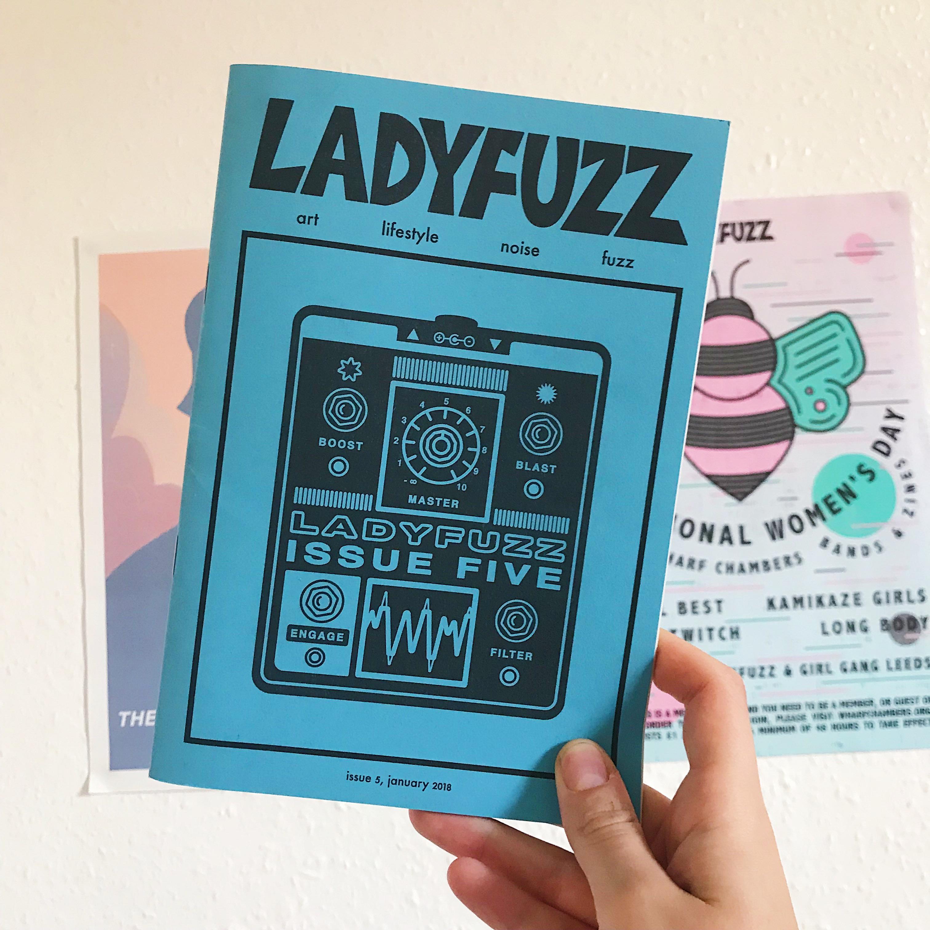 Ladyfuzz Issue #5