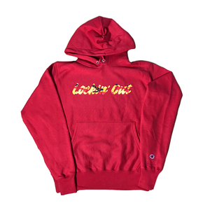 Lockin Out - Camo Hoodie (Red)