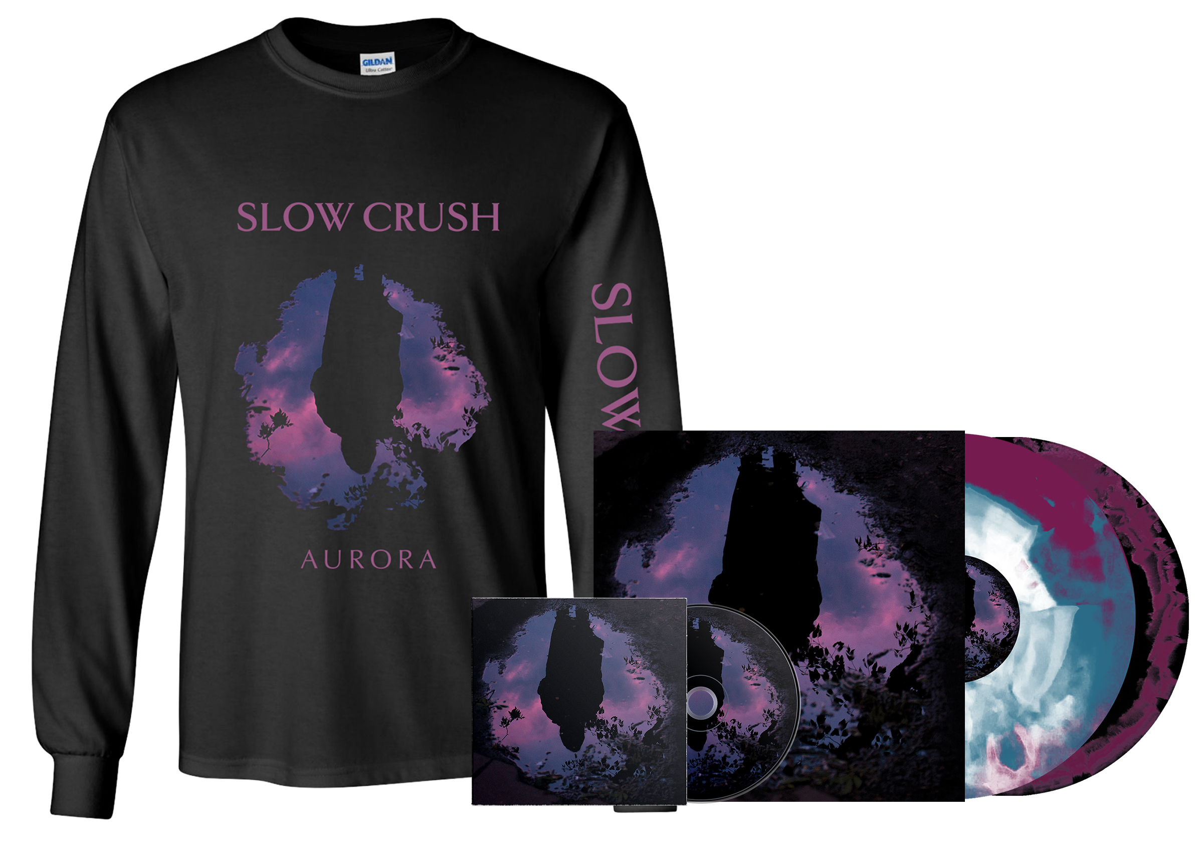 Slow Crush - all formats + long sleeve PREORDER