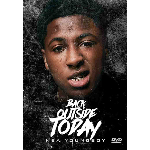 NBA Youngboy - Back Outside Today (DVD)