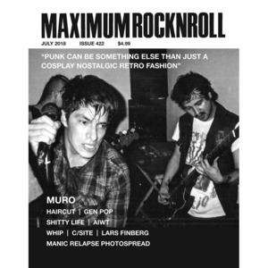 MAXIMUM ROCKNROLL #422 & back issues