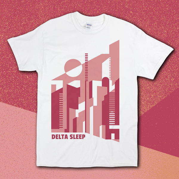 Delta Sleep - Ghost City T-Shirt - PREORDER