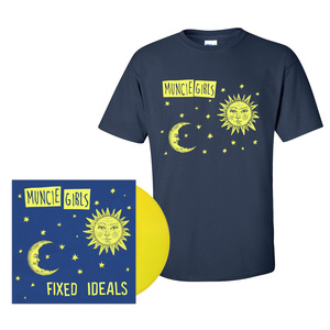 Muncie Girls - Fixed Ideals LP / CD / Tape & Shirt