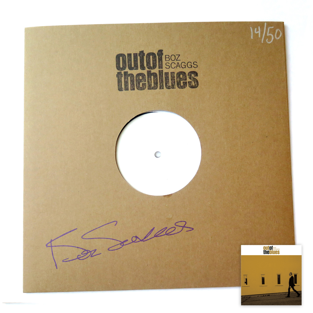 Signed & Numbered Test Pressing Vinyl + Color LP Bundle (50 available)