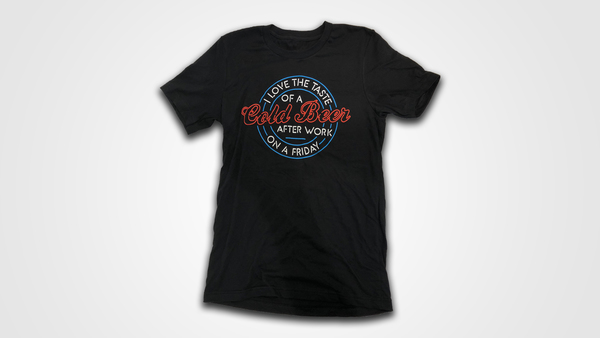 When It Comes To Loving You Lyric Tee