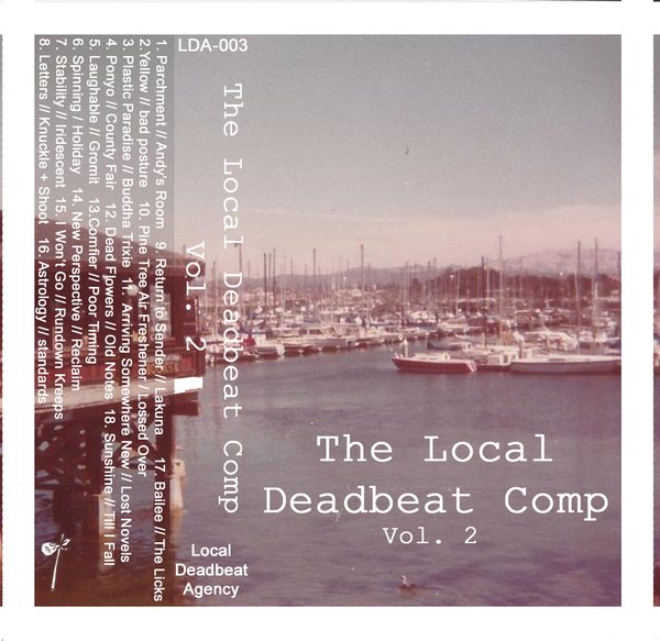 Local Deadbeat Comp Vol. 2 - Cassette