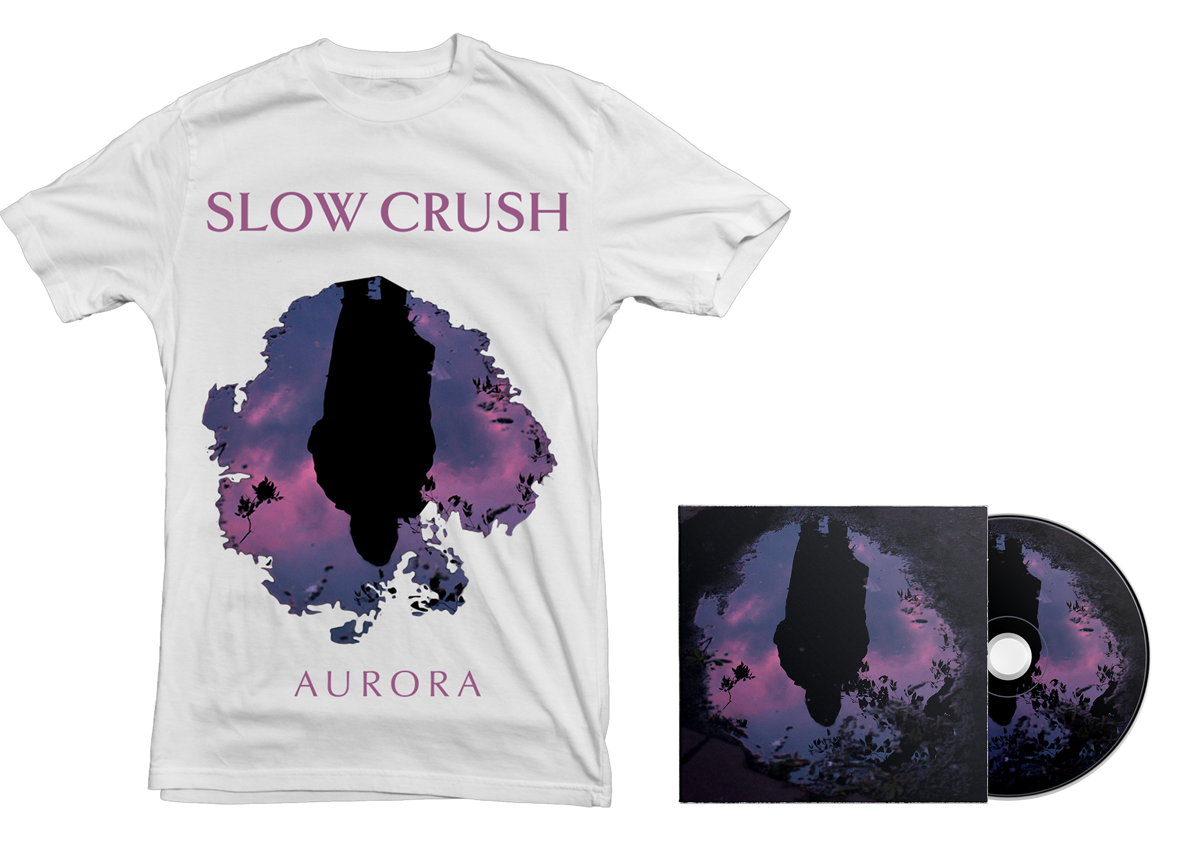Slow Crush - Aurora CD + shirt PREORDER