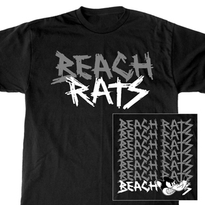 Beach Rats 'Repeating Logo' T-Shirt
