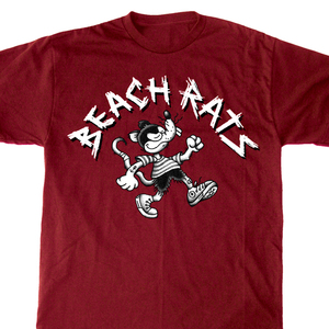 Beach Rats 'Walking Rat' T-Shirt