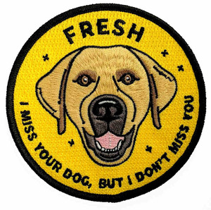 Fresh - 'I Miss Your Dog' Patch
