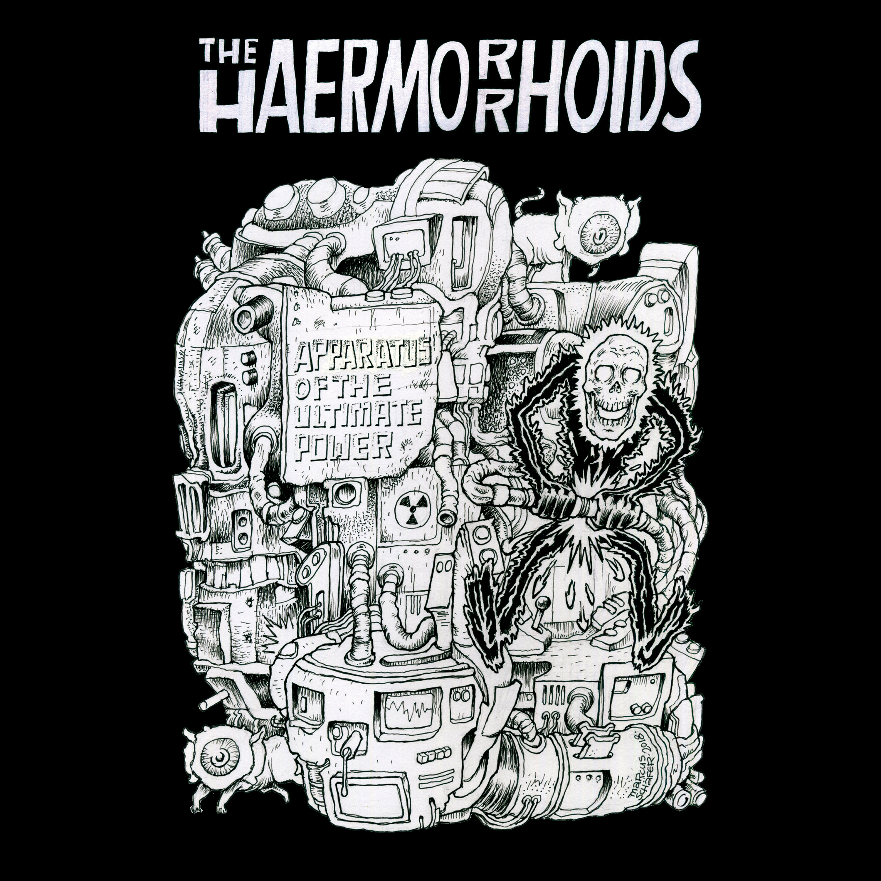 The Haermorrhoids - Apparatus Of The Ultimate Power