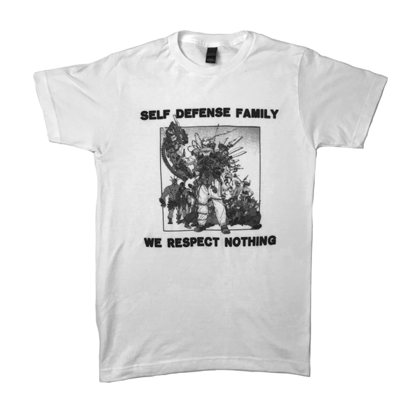 Self Defense Family - Respect Nothing Shirt