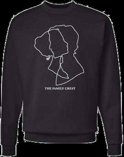 Abstract Lovers Crew Neck Sweatshirt