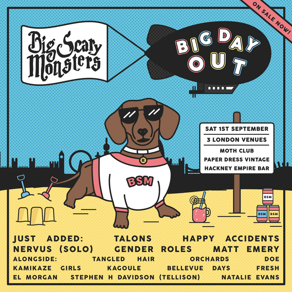 Big Scary Monsters Big Day Out – Day Ticket