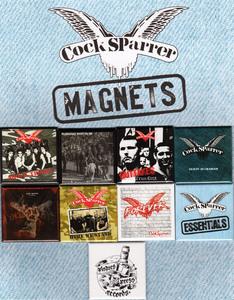 COCK SPARRER Magnet Set