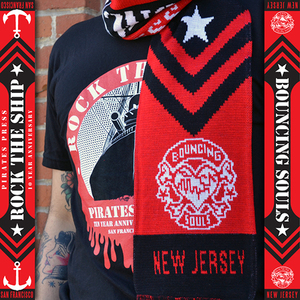 Rock The Ship Scarf- Bouncing Souls
