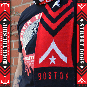 Rock The Ship Scarf- Street Dogs
