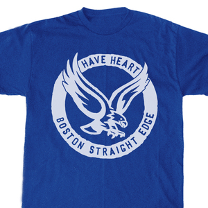 Have Heart 'Blue Straight Edge Eagle' T-Shirt