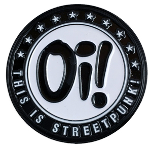 Oi! This is Streetpunk Button