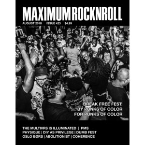 MAXIMUM ROCKNROLL #423 & back issues