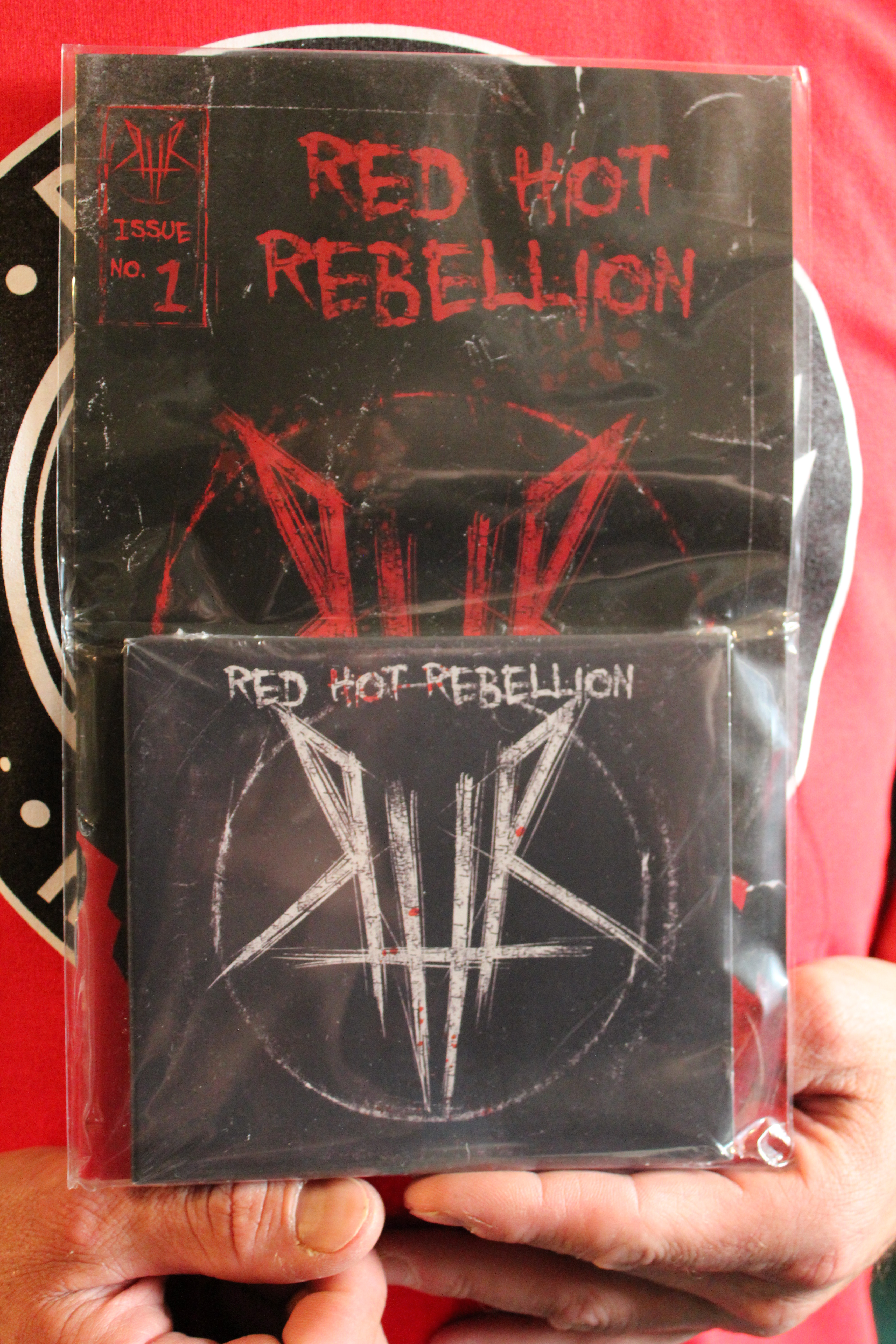 RED HOT REBELLION Self-Titled Debut Album