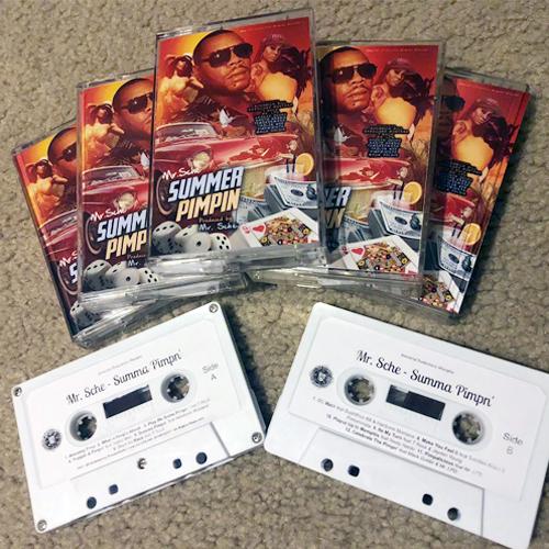 Mr. Sche - Summer Pimpin (Limited Edition Cassette)