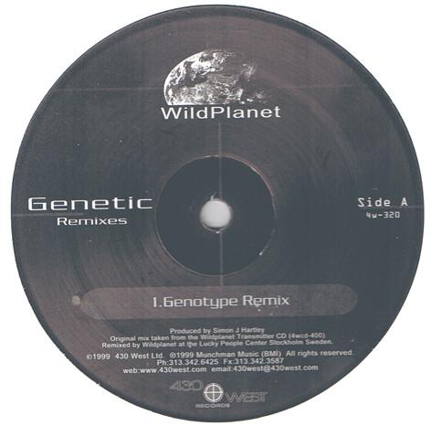 Wild Planet – Genetic Remixes (430 West)