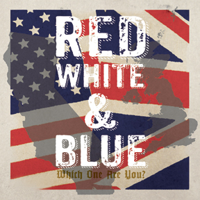 RED, WHITE & BLUE 2x7