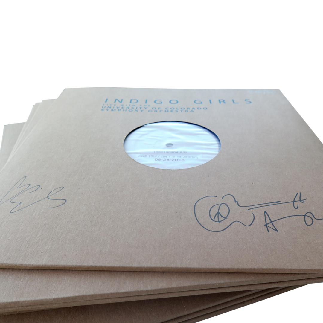 Signed 3xLP Test Pressing + Color 3xLP Bundle (less than 10 in stock)