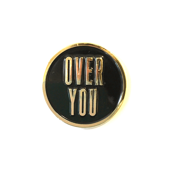 Over You Pin