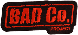 Bad Co. Project Embroidered Patch