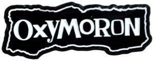 Oxymoron Enamel Pin