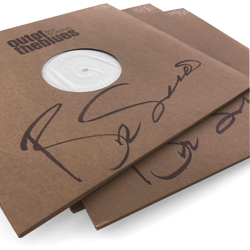 Signed & Numbered Test Pressing Vinyl + Color LP Bundle (50 available)