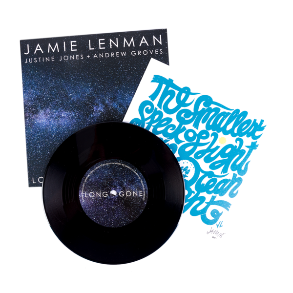 "Jamie Lenman – Long Gone/Irrelevant – 7""/T-Shirt Bundle"