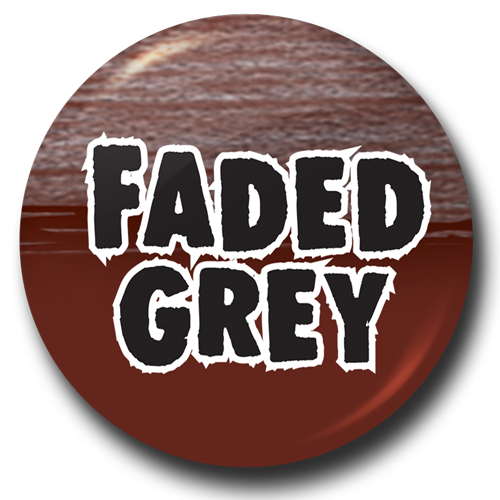 Faded Grey Button